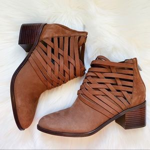 1. STATE Iliza Leather Booties Size 7.5 NEW $139
